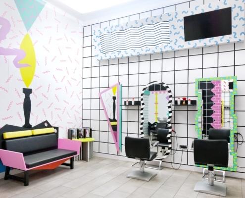 per l'allestimento degli interni del tuo salone di bellezza.